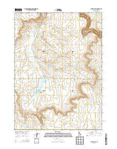 Juniper Basin Idaho Current topographic map, 1:24000 scale, 7.5 X 7.5 Minute, Year 2013