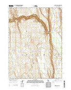 Juniper Basin SE Idaho Current topographic map, 1:24000 scale, 7.5 X 7.5 Minute, Year 2013 from Idaho Map Store