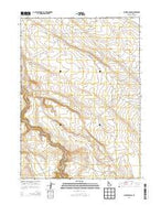 Juniper Ranch Idaho Current topographic map, 1:24000 scale, 7.5 X 7.5 Minute, Year 2013 from Idaho Map Store