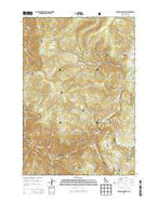 Jureano Mountain Idaho Current topographic map, 1:24000 scale, 7.5 X 7.5 Minute, Year 2013 from Idaho Map Store