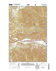 Kellogg West Idaho Current topographic map, 1:24000 scale, 7.5 X 7.5 Minute, Year 2014