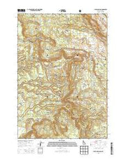 Latham Spring Idaho Current topographic map, 1:24000 scale, 7.5 X 7.5 Minute, Year 2013 from Idaho Maps Store