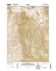 Lava Hot Springs Idaho Current topographic map, 1:24000 scale, 7.5 X 7.5 Minute, Year 2013 from Idaho Maps Store
