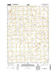 Lava Lake Reservoir Idaho Current topographic map, 1:24000 scale, 7.5 X 7.5 Minute, Year 2013 from Idaho Maps Store