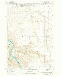 Lewiston Orchards South Idaho Historical topographic map, 1:24000 scale, 7.5 X 7.5 Minute, Year 1958