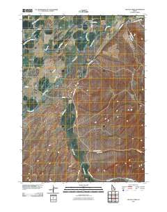 Lincoln Creek Idaho Historical topographic map, 1:24000 scale, 7.5 X 7.5 Minute, Year 2010