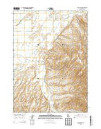 Lincoln Creek Idaho Current topographic map, 1:24000 scale, 7.5 X 7.5 Minute, Year 2013 from Idaho Map Store