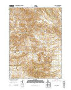 Lincoln Peak Idaho Current topographic map, 1:24000 scale, 7.5 X 7.5 Minute, Year 2013 from Idaho Map Store