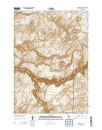 Linderman Dam Idaho Current topographic map, 1:24000 scale, 7.5 X 7.5 Minute, Year 2013 from Idaho Map Store