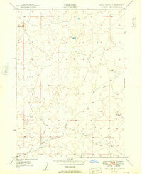 Little Joe Butte Idaho Historical topographic map, 1:24000 scale, 7.5 X 7.5 Minute, Year 1949