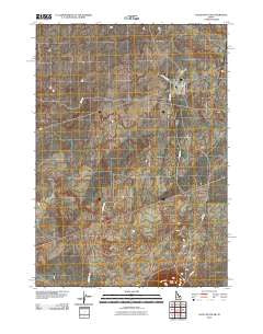 Little Butte SW Idaho Historical topographic map, 1:24000 scale, 7.5 X 7.5 Minute, Year 2010