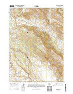Long Valley Idaho Current topographic map, 1:24000 scale, 7.5 X 7.5 Minute, Year 2013 from Idaho Map Store