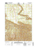 Lookout Butte Idaho Current topographic map, 1:24000 scale, 7.5 X 7.5 Minute, Year 2013 from Idaho Map Store