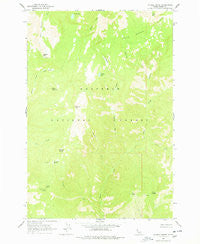 Marble Butte Idaho Historical topographic map, 1:24000 scale, 7.5 X 7.5 Minute, Year 1963