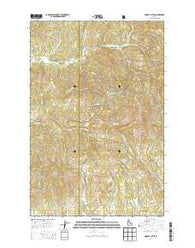 McGary Butte Idaho Current topographic map, 1:24000 scale, 7.5 X 7.5 Minute, Year 2014