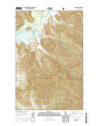 Medimont Idaho Current topographic map, 1:24000 scale, 7.5 X 7.5 Minute, Year 2014