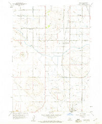 Melba Idaho Historical topographic map, 1:24000 scale, 7.5 X 7.5 Minute, Year 1958