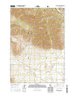 Moffett Springs Idaho Current topographic map, 1:24000 scale, 7.5 X 7.5 Minute, Year 2013 from Idaho Map Store