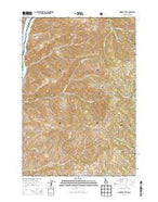 Monroe Butte Idaho Current topographic map, 1:24000 scale, 7.5 X 7.5 Minute, Year 2013 from Idaho Map Store