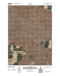Morgans Pasture NE Idaho Historical topographic map, 1:24000 scale, 7.5 X 7.5 Minute, Year 2010