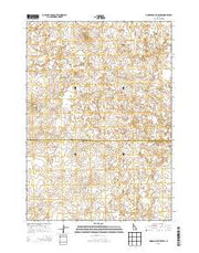 Morgans Pasture NW Idaho Current topographic map, 1:24000 scale, 7.5 X 7.5 Minute, Year 2013 from Idaho Maps Store
