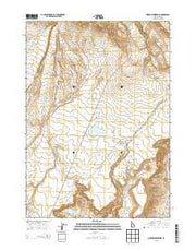Morrow Reservoir Idaho Current topographic map, 1:24000 scale, 7.5 X 7.5 Minute, Year 2013 from Idaho Maps Store