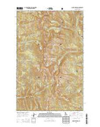Mount Roothaan Idaho Current topographic map, 1:24000 scale, 7.5 X 7.5 Minute, Year 2013 from Idaho Map Store