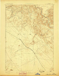 Mountain Home Idaho Historical topographic map, 1:125000 scale, 30 X 30 Minute, Year 1893