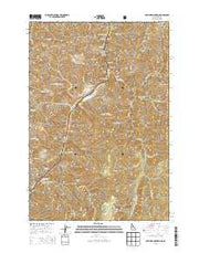 Old Timer Mountain Idaho Current topographic map, 1:24000 scale, 7.5 X 7.5 Minute, Year 2013 from Idaho Maps Store