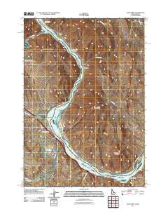 Olds Ferry Idaho Historical topographic map, 1:24000 scale, 7.5 X 7.5 Minute, Year 2011