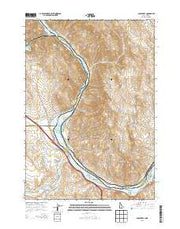 Olds Ferry Idaho Current topographic map, 1:24000 scale, 7.5 X 7.5 Minute, Year 2013 from Idaho Maps Store