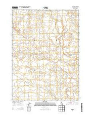 Olsen Idaho Current topographic map, 1:24000 scale, 7.5 X 7.5 Minute, Year 2013 from Idaho Maps Store