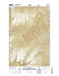 Park Idaho Current topographic map, 1:24000 scale, 7.5 X 7.5 Minute, Year 2014