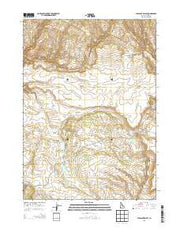 Pleasant Valley Idaho Current topographic map, 1:24000 scale, 7.5 X 7.5 Minute, Year 2013 from Idaho Maps Store