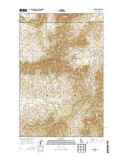 Plummer Idaho Current topographic map, 1:24000 scale, 7.5 X 7.5 Minute, Year 2013 from Idaho Maps Store