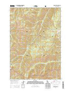 Rainbow Peak Idaho Current topographic map, 1:24000 scale, 7.5 X 7.5 Minute, Year 2013 from Idaho Map Store