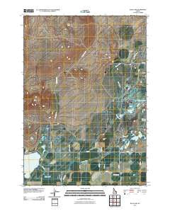 Rays Lake Idaho Historical topographic map, 1:24000 scale, 7.5 X 7.5 Minute, Year 2010