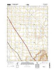 Reverse Idaho Current topographic map, 1:24000 scale, 7.5 X 7.5 Minute, Year 2013 from Idaho Maps Store
