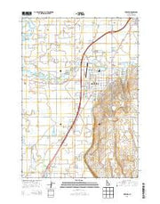 Rexburg Idaho Current topographic map, 1:24000 scale, 7.5 X 7.5 Minute, Year 2013 from Idaho Maps Store