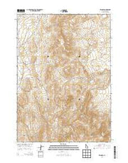 Reynolds Idaho Current topographic map, 1:24000 scale, 7.5 X 7.5 Minute, Year 2013 from Idaho Maps Store