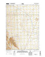 Richard Butte Idaho Current topographic map, 1:24000 scale, 7.5 X 7.5 Minute, Year 2013 from Idaho Map Store