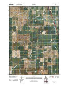 Roberts Idaho Historical topographic map, 1:24000 scale, 7.5 X 7.5 Minute, Year 2010