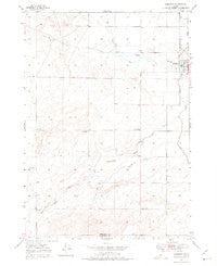 Roberts Idaho Historical topographic map, 1:24000 scale, 7.5 X 7.5 Minute, Year 1949