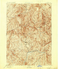 Rocky Bar Idaho Historical topographic map, 1:125000 scale, 30 X 30 Minute, Year 1894