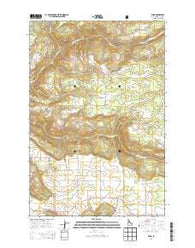 Rudo Idaho Current topographic map, 1:24000 scale, 7.5 X 7.5 Minute, Year 2014