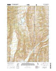 Sage Valley Idaho Current topographic map, 1:24000 scale, 7.5 X 7.5 Minute, Year 2015