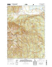 Sawtell Peak Idaho Current topographic map, 1:24000 scale, 7.5 X 7.5 Minute, Year 2013 from Idaho Maps Store