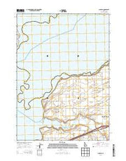Schiller Idaho Current topographic map, 1:24000 scale, 7.5 X 7.5 Minute, Year 2013 from Idaho Maps Store