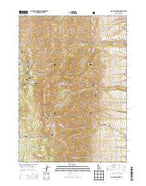 Scout Mountain Idaho Current topographic map, 1:24000 scale, 7.5 X 7.5 Minute, Year 2013 from Idaho Map Store