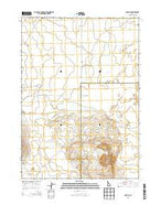 Scoville Idaho Current topographic map, 1:24000 scale, 7.5 X 7.5 Minute, Year 2013 from Idaho Map Store